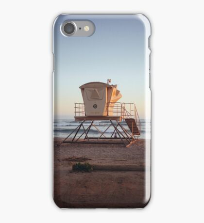 San Onofre Lifeguard Tower iPhone Case/Skin