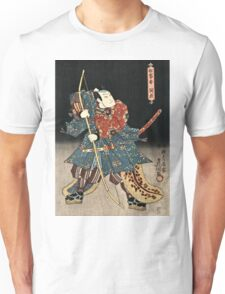 Utagawa Kunisada - An Actor In The Role Of Saitogo Kunitake  Unisex T-Shirt