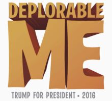 Deplorable Me: Basket of Deplorables (White) by BootsBoots
