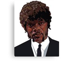 SAMUEL L. JACKSON PULP FICTION GRAPHIC TSHIRT Canvas Print