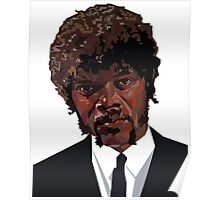 SAMUEL L. JACKSON PULP FICTION GRAPHIC TSHIRT Poster