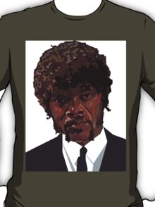 SAMUEL L. JACKSON PULP FICTION GRAPHIC TSHIRT T-Shirt