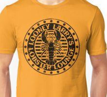 Looney Larry's Lobster Lounge Unisex T-Shirt