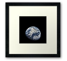 Earth From Apollo 8 Framed Print