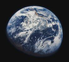 Earth From Apollo 8 by Jacob Thomas