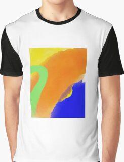Hello orange Graphic T-Shirt