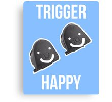 Trigger Happy Canvas Print