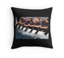 Going All Out Throw Pillow