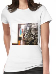 Sing Womens Fitted T-Shirt