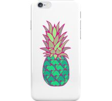 Colorful Pineapple iPhone Case/Skin