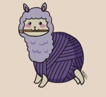 Yarn Alpaca - Purple T-Shirt