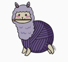 Yarn Alpaca - Purple Kids Clothes