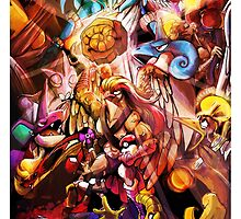 TWITCH PLAYS POKEMON- THE POSTER by Iris-sempi
