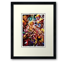 TWITCH PLAYS POKEMON- THE POSTER Framed Print