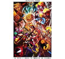 TWITCH PLAYS POKEMON- THE POSTER Photographic Print