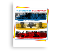 The True Detectives new album, Scented Meat Canvas Print