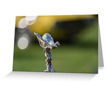 RR Flying Lady Greeting Card