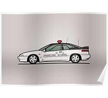 Alcyone SVX Subaru Kenkyo Test & Development Center Pace Car Poster
