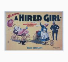 Performing Arts Posters Blaneys A hired girl his latest musical comedy success 0914 One Piece - Short Sleeve