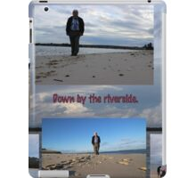 Going 'round to the river iPad Case/Skin