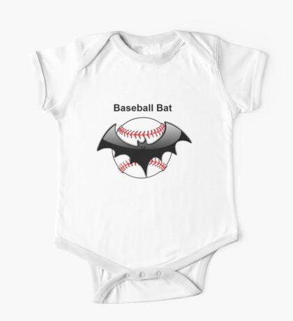 Baseball Bat Flying Bat One Piece - Short Sleeve