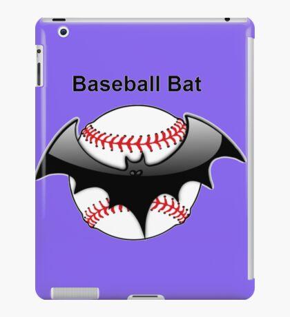 Baseball Bat Flying Bat iPad Case/Skin