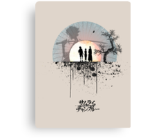 Samurai Champloo - Sunset Canvas Print