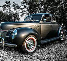 Flat Black Ford by barkeypf