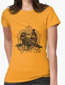 Victorian Crows Womens Fitted T-Shirt