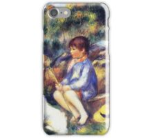 Renoir Auguste - Young Boy By The River 1890 iPhone Case/Skin