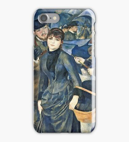 Renoir Auguste - The Umbrellas  iPhone Case/Skin