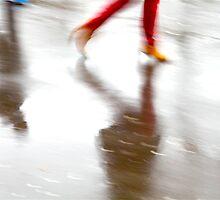 Walking around,  going nowhere.  by Danica Radman