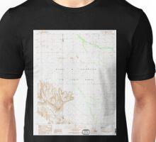 USGS TOPO Map Arizona AZ Aguila Mountains NE 310233 1990 24000 Unisex T-Shirt