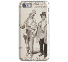 Performing Arts Posters Roeber and Crane Bro's Vaudeville Athletic Co 0362 iPhone Case/Skin