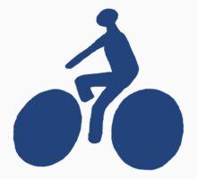 Blue bike Kids Tee