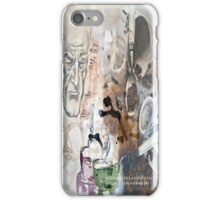 Human with the first cup iPhone Case/Skin