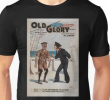 Performing Arts Posters Old glory a story of our blue jackets in Chili ie Chile by Chas T Vincent 0714 Unisex T-Shirt