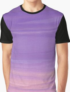 Purple Sky Abstract Graphic T-Shirt