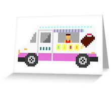 Ice Cream Truck - The Kids' Picture Show - 8-Bit Greeting Card