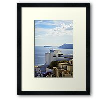 view from Oia Framed Print