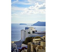 view from Oia Photographic Print