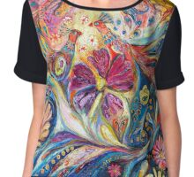 The Flowers of Sea Chiffon Top
