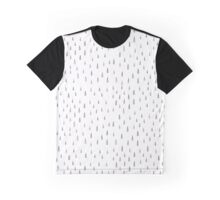Abstract seamless pattern with doodle rain drops Graphic T-Shirt
