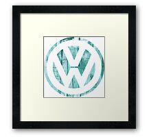 VW Grungy II Framed Print