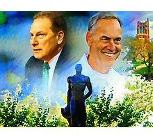 Tom Izzo N Mark Dantonio Photographic Print