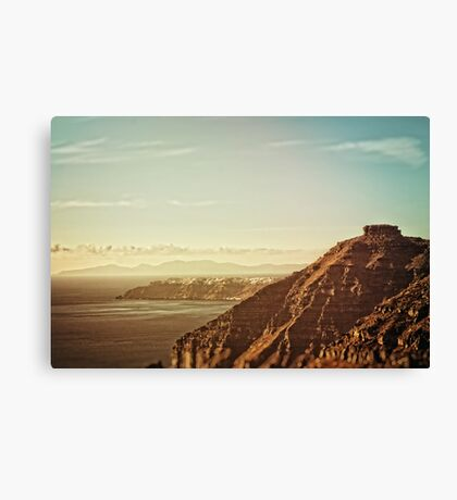 Skaros Rock Canvas Print