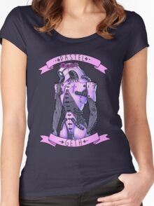 Pastel Geth Women's Fitted Scoop T-Shirt