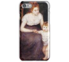 Renoir Auguste - The First Step 1876 iPhone Case/Skin