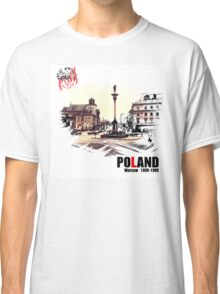 Poland - Polska Warsaw Warszawa Classic T-Shirt