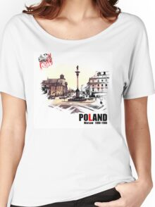 Poland - Polska Warsaw Warszawa Women's Relaxed Fit T-Shirt